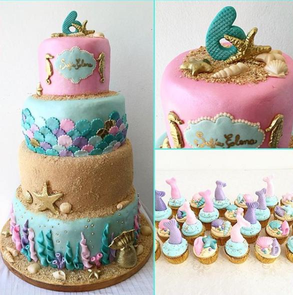 Top 10 Mermaid Cakes Of 2017 Fin Fun Blog