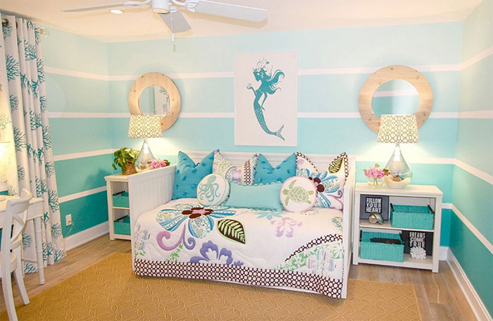 How to Decorate Your Bedroom Like a Mermaid Paradise  Fin Fun Blog