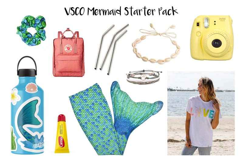 VSCO Mermaid Starter Pack