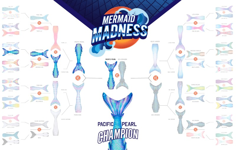 mermaid madness bracket